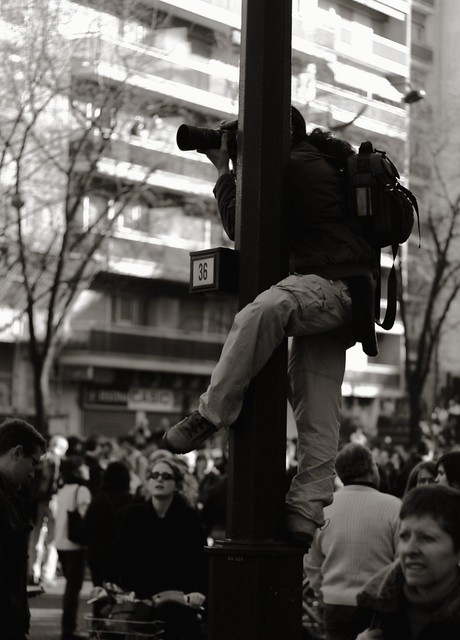 Photographe embusqué