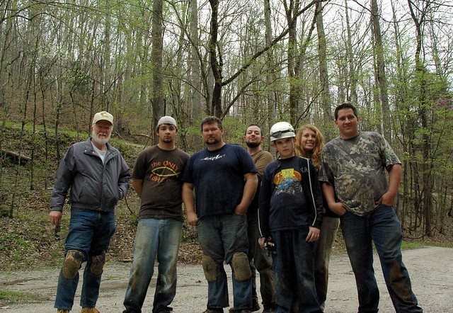 The Gang, Lost Creek parking lot, White Co, TN