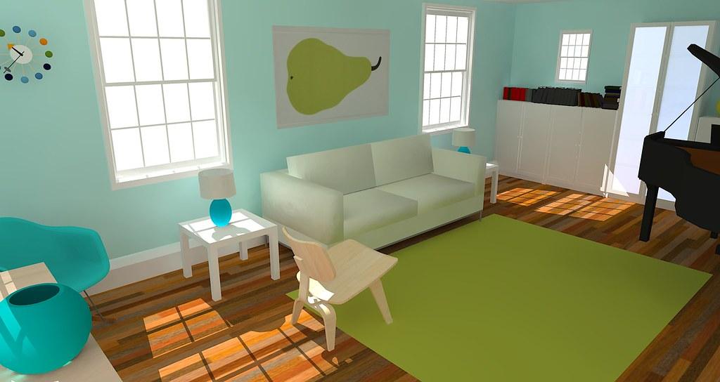 Google Sketchup Living Room Jennifer S K Flickr