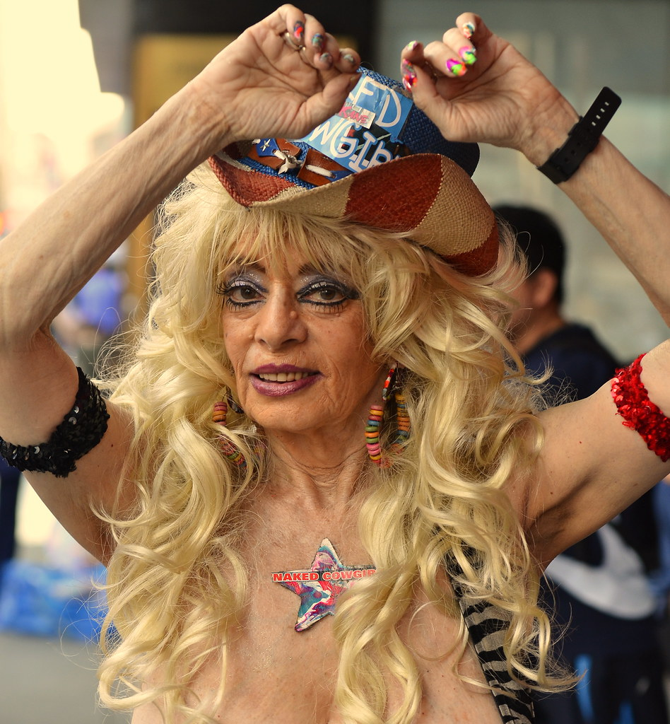 Naked Cowgirl, NYC Times Square | Im sparing you the