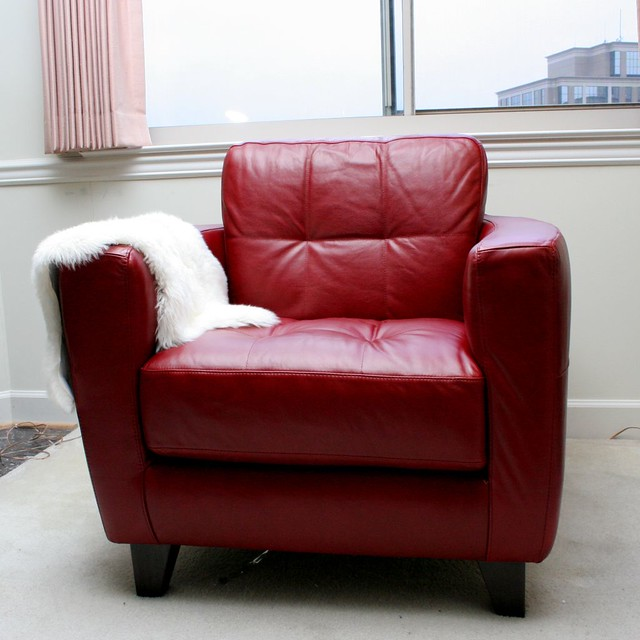 Window Chair with Lambskin