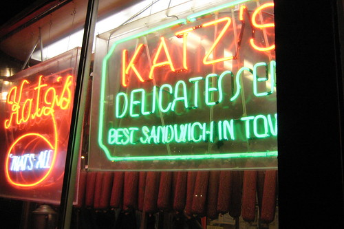 NYC - LES - Katz's Delicatessen | by wallyg
