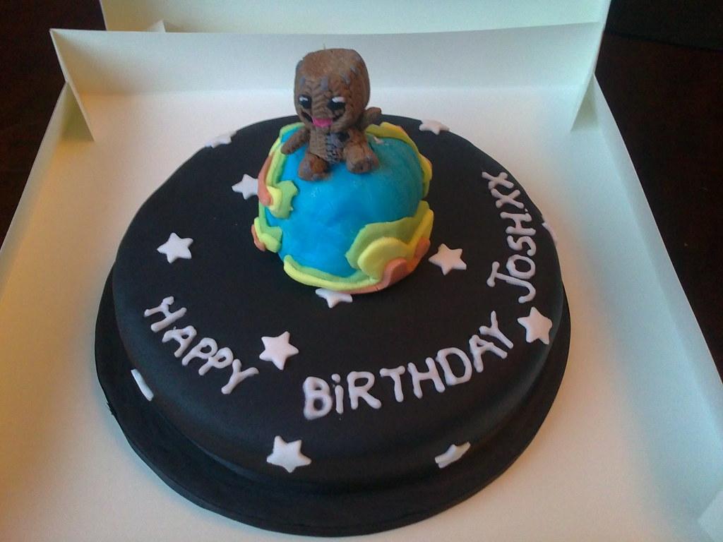 Amazing I C E D Little Big Planet Birthday Cake Lorraine Hampton Flickr Birthday Cards Printable Riciscafe Filternl
