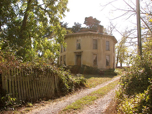Octagon House near Petaluma, CA