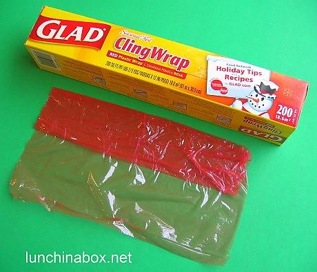 Red plastic wrap | Seasonal red plastic wrap (cling film) us… | Flickr