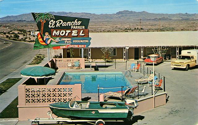 El Rancho Parker Motel, 1960's