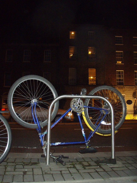 Creative bike parking