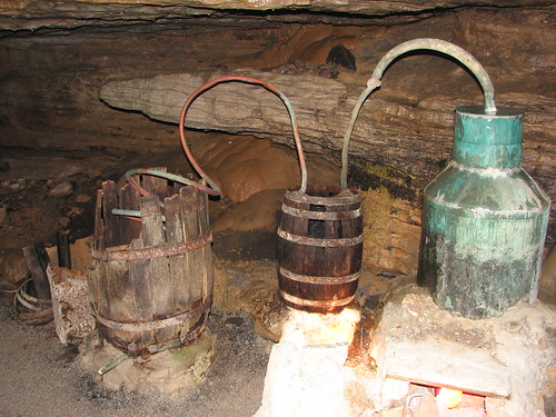 Moonshine still in Forbidden Caverns | by Kajvin