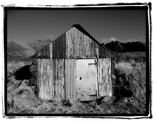 Beach hut at Glen Brittle, Skye