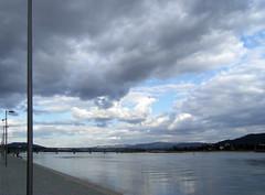 Rio Lima and sky