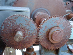 Gears that don't open the gate anymore