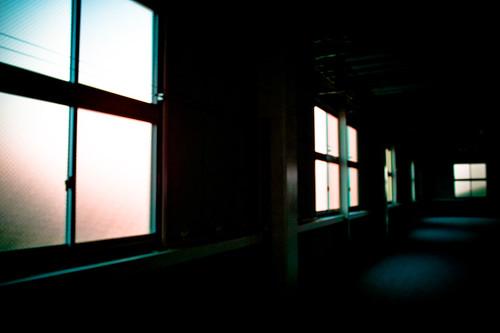 sunset shadow plant window japan parking lightshadow jpn aichiken dp1 ogakie ogakiechou constructipon