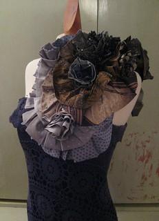 trashion tie dress (in progress) 21 | by Outi Les Pyy / OutsaPop Trashion DIY fashion