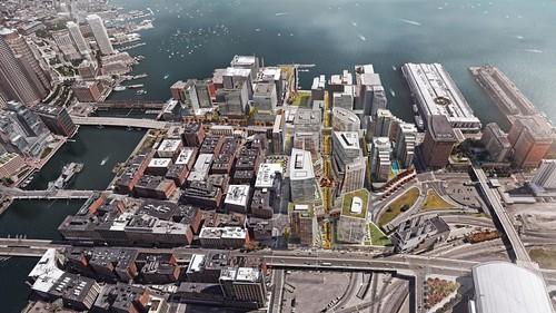 Bird's-Eye View of Seaport | by bldupboston