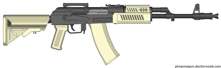 MW2 AK-47   one of my better vid game guns   Austin F    Flickr