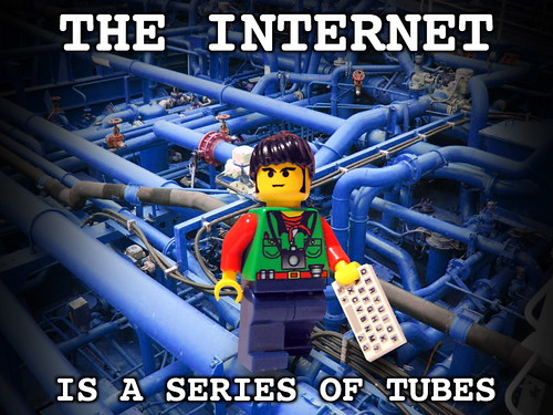 The Internet Is A Series Of Tubes | by libertyandvigilance