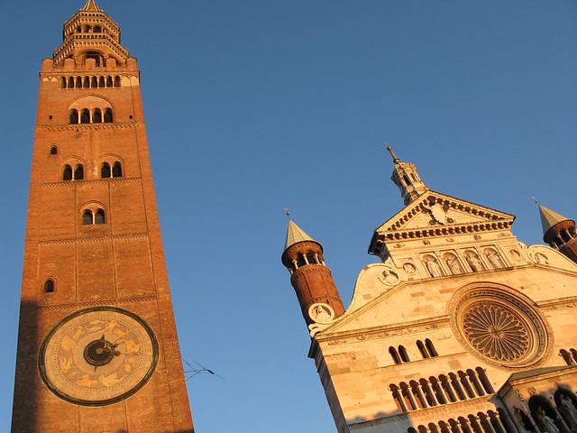 Cremona, Torrazzo e cattedrale