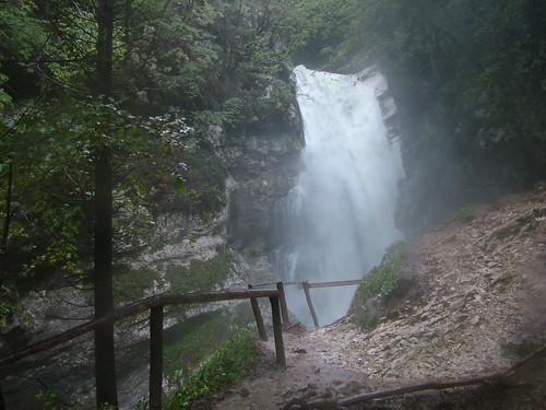 Vodopád na Mostnici