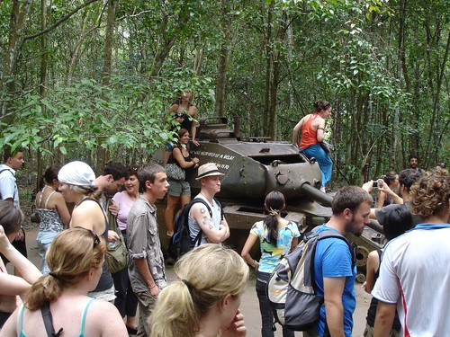 Tourists - Cu Chi Tunnels, Vietnam - July 2007 | by auldhippo