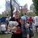 Jason after Marathon with Krista