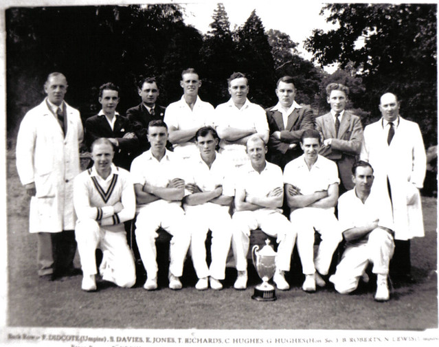 Llanover Cricket Team - 1950's