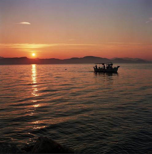 Fishing boat at Kiveri