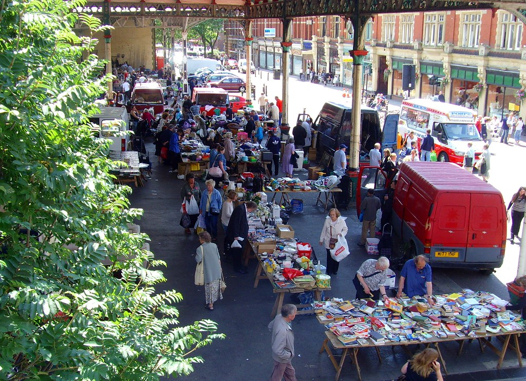 Its Car Boot Time At Preston Market Tony Worrall Photography Flickr