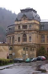 Kaiser Bad/Císárské Lázné, Karlovy Vary, Rear View