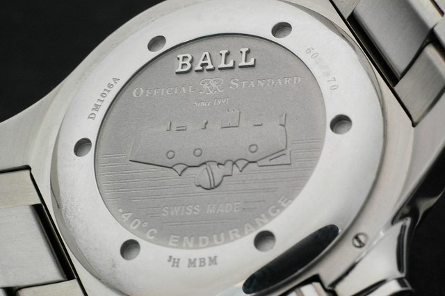 Ball Engineer Hydrocarbon - Case back