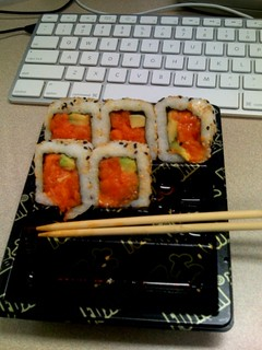 Spicy salmon roll | by mmageek