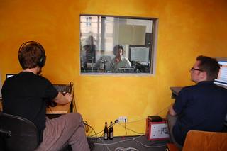mikro.FM: Im Studio, Tesla Berlin, 08.07.2007