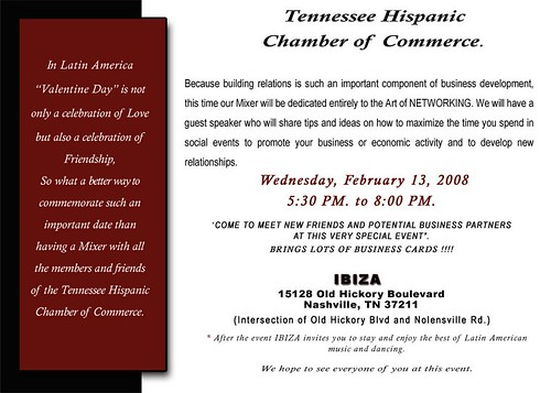 Tennessee Hispanic Chamber pre-Valentine's Day networking event | by johnlamb
