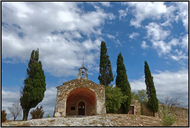 La chapelle Ste Sixte -  The chapel of Saint Sixte