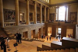 Philadelphia Museum of Art - lovely foyer