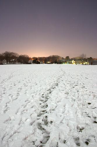 longexposure winter snow night vanishingpoint moonlight stocksubmissions