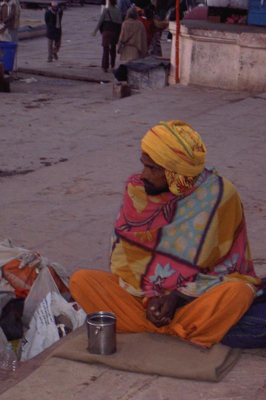 Beggar in Varanasi