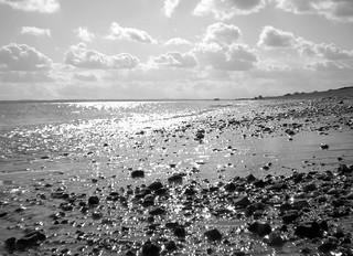 SouthseaBeachBW | by Hexagoneye Photography