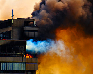 Apocalypse Now - Fire at the TU Delft | by Dennis87