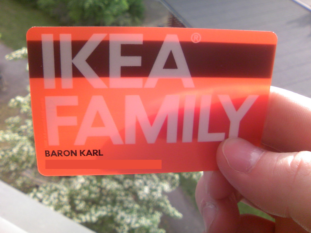 Ikea Family Card Is Transparent O Untitled Karl Baron Flickr