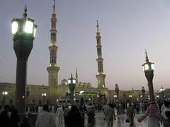 Sunset at Masjid Nabawi #1921