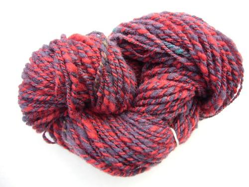 First 2-ply yarn