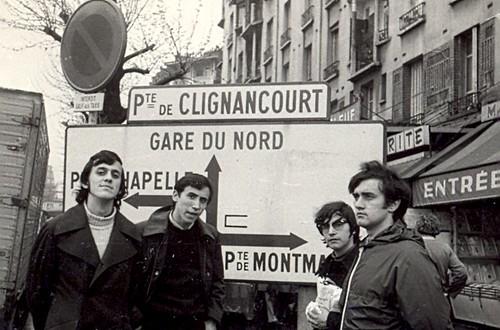 Porte de Clignancourt, Paris , en 1973