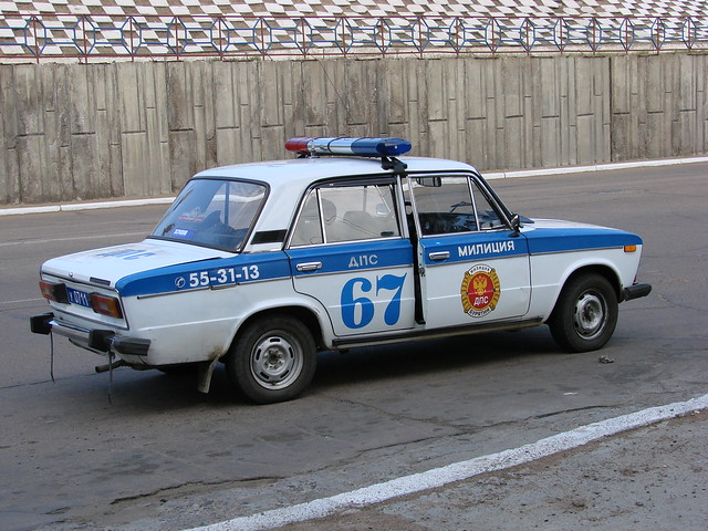 Police Car, Vladivostok