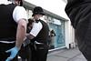 London cops making an arrest