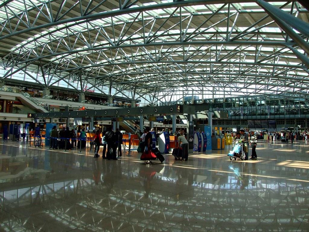 Hamburg Flughafen Terminal 1