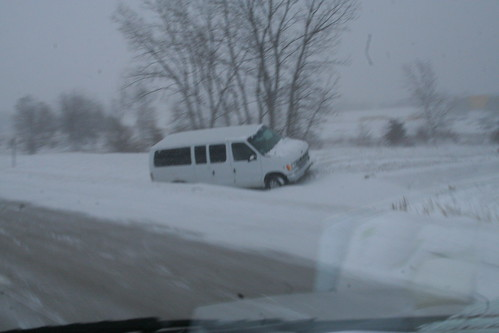 Van in ditch | by ahhyeah