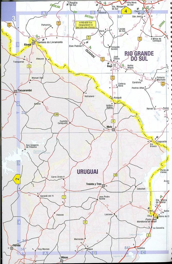 Mercosul Mercosur Mapa Rodovias Estradas Do Brasil Rod Flickr