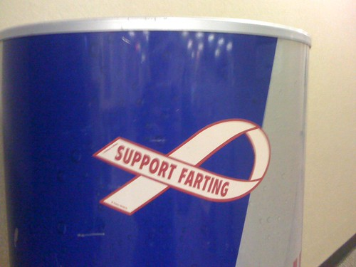 Supports Farting | by Justin Thorp