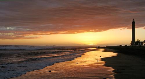 Lighthouse Maspalomas Sunset | by ahisgett