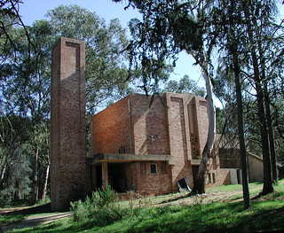 Walter Burley Griffin's Incinerator from the South